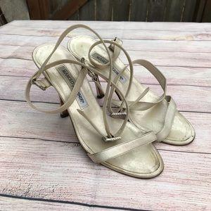 Manolo Blahnik Ankle Wrap Sandals